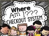 Where Am I Checkout System