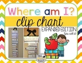 Where Am I? Clip Chart EXPANDED VERSION: You Call It!