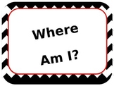 Where Am I? How Do We go Home? Clip Charts