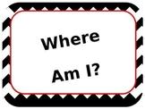 Where Am I? How Do We go Home? Clip Charts