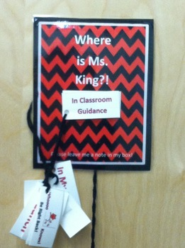 Where Am I?! School Counselor Sign