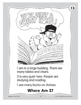 Where Am I? The Library