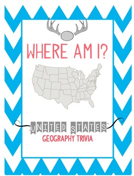 Where Am I United States Trivia By Katie Lately TpT - United states trivia