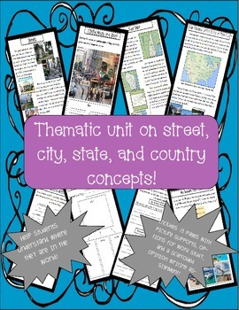 Where Am I in the World?: Writing Thematic Unit