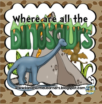 Where Are All of the Dinosaurs? { SMARTBoard Activities}