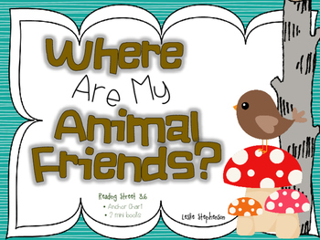 Where Are My Animal Friends?