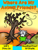Where Are My Animal Friends? 1st Grade Reading Street Resource Unit