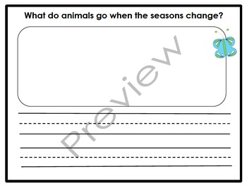 Where Are My Animal Friends Organizers & Writing Activities (Reading Street 3.6)