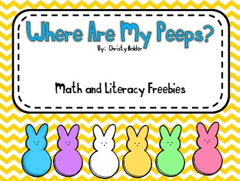 Where Are My Peeps?