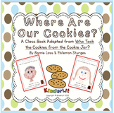 Where Are Our Cookies Class Book FREEBIE