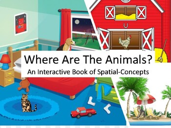 Where Are The Animals? - Following Directions with Spatial