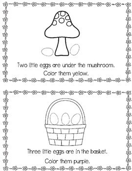 Where Are The Eggs?  Emergent Reader
