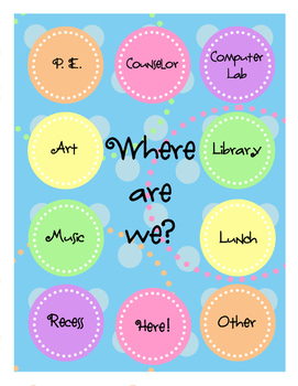 Where Are We? Class Location Tracker