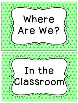 Polka Dot Where Are We?
