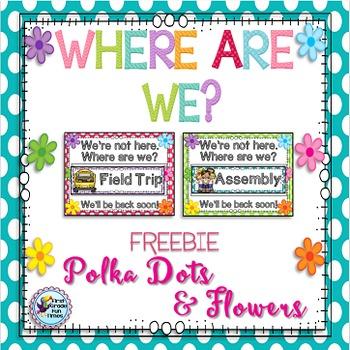 Free Downloads Polka Dots Classroom Theme