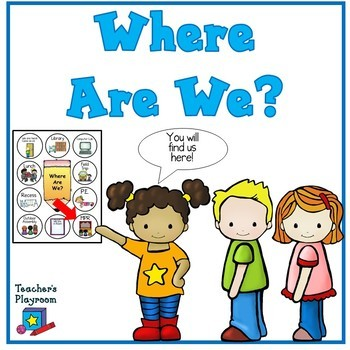 Where Are We? A Classroom  Door Sign