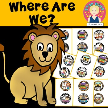 Where Are We? {Animal Print Themed}
