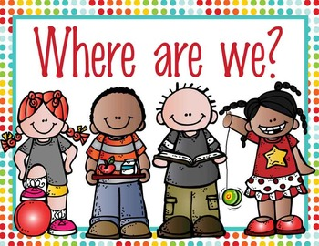 the BRAINY BUNCH - Where Are We  clip chart