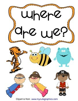 Where Are We? Classroom Poster