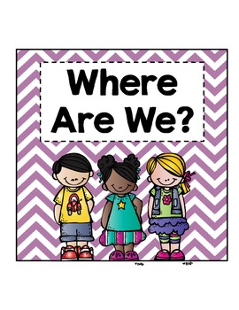 """Where Are We?"" Clip Chart"