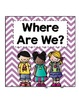 """""""Where Are We?"""" Clip Chart"""