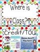 Where Are We? D'Nealian Classroom Helper Posters Multi Dots