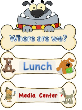 Where Are We? Dog Theme