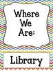 Where Are We? - Door Hanger