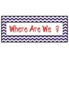 Where Are We?  Door Signs