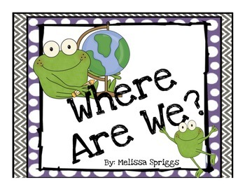 Where Are We? Froggy Sign