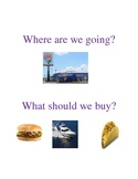 Where Are We Going? (A Book about Places & Purchases)