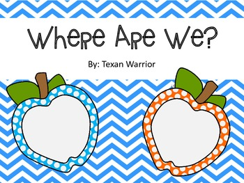 Where Are We Labels Apple Theme