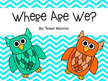 Where Are We Labels Owl Theme