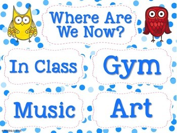 Owls Where Are We Now Clip Chart