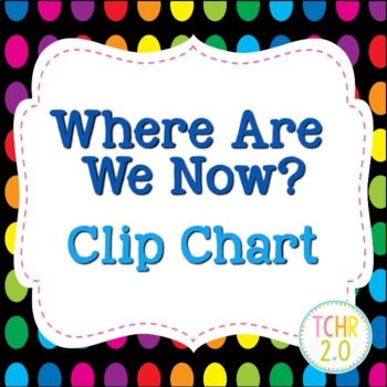 Where Are We Now Clip Chart
