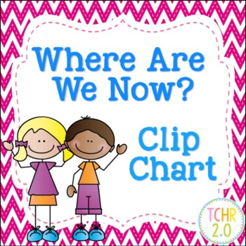 Scrappy Kids Where Are We Now Clip Chart