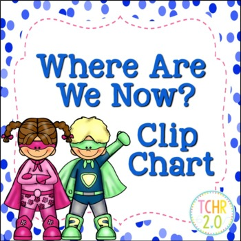 Superhero Where Are We Now Clip Chart