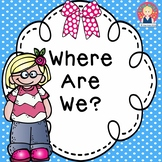 Where Are We? {PRINT AND GO}