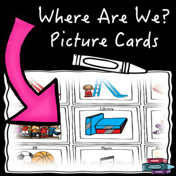 Where Are We? Picture Cards