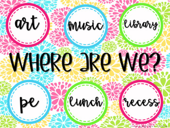 Where Are We? {FREEBIE}