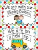 Where Are We? Print Classroom Helper Posters Multi Dots
