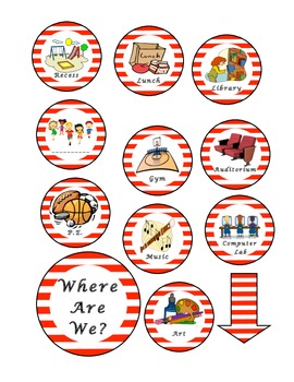 Where Are We Sign - Dr. Seuss
