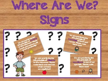 Where Are We Signs- Great Expectations