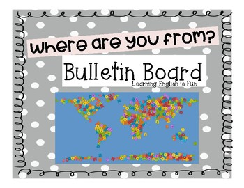 Where Are You From? Bulletin Board