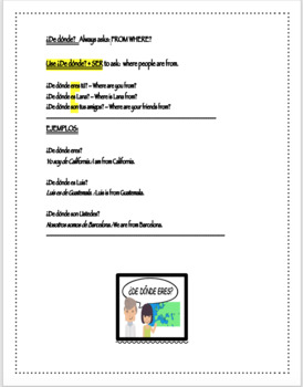 Where Are You From? Communication Activity