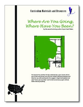 """Where Are You Going, Where Have You Been?"" editable AP St"