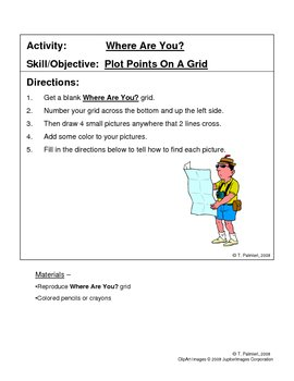 Where Are You? - Plotting Points on a Grid