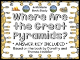 Where Are the Great Pyramids? (Hoobler) Book Study / Reading Comprehension