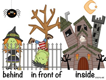 Where Are the Halloween Monsters and Fun in Fall Pronouns Mini-books