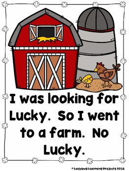 Where Can I Find Lucky the Leprechaun?  (A Sight Word Emergent Reader)